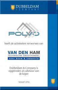 Polvo neemt Van Den Ham over