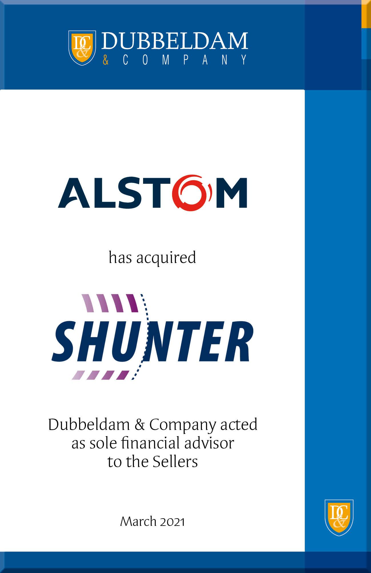 Shunter verkocht aan het Franse Alstom